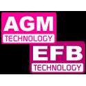 BATTERIE AGM - EFB